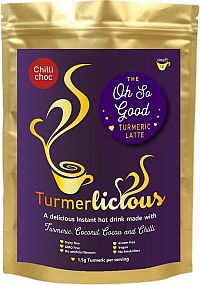 Turmerlicious Chilli Choc 200g Packet - Instant drink - Dairy Free